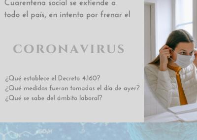 Cuarentena social se extiende a todo el país en intento por frenar el coronavirus
