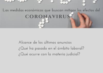 Las medidas económicas que buscan mitigar los efectos del coronavirus