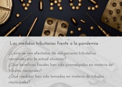 Las medidas tributarias frente a la pandemia